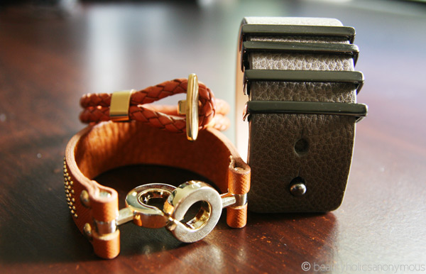 Mocha, Mouche and SABA Cuffs