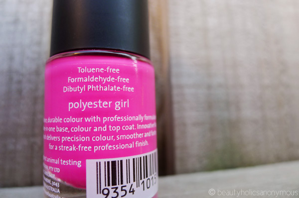 Face of Australia's Colour Pro Triple Action Nail Enamel in Polyester Pink