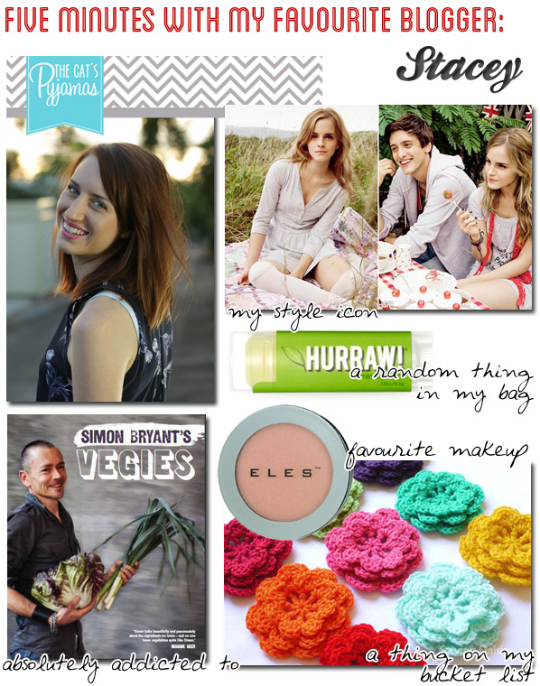 Five Minutes with My Favourite Blogger: Stacey @ The Cat's Pyjamas
