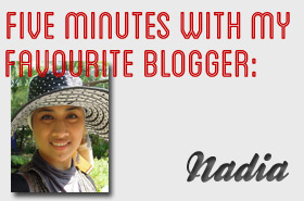 Five Minutes with My Favourite Blogger: Nadia @ Indulgent Beauty Reviews