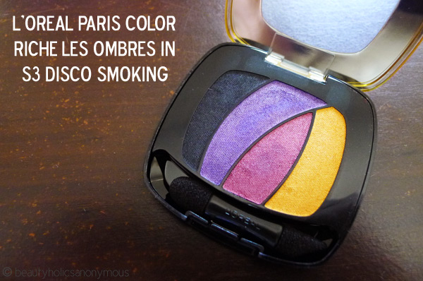 L'Oreal Paris Color Riche Les Ombre in Disco Smoking
