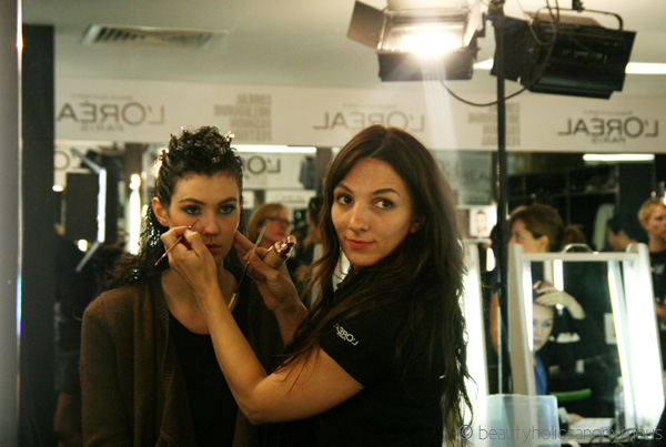 LMFF 2013 Day 4: More Backstage Shenanigans, Rae's Beauty Tips and A Slight Runway Boo Boo