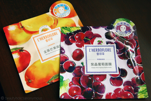 L'Herboflore Has Captured My Heart With Their Facial Sheet Masks
