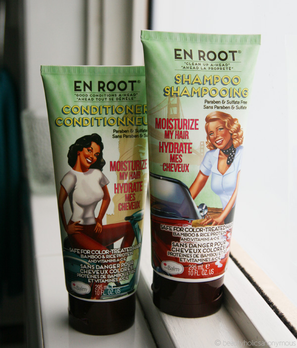 Quickie Mention: The Balm En Root Shampoo & Conditioner