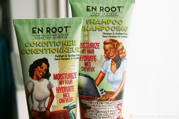 Quickie Mention: The Balm En Root Moisturize My Hair Shampoo & Conditioner