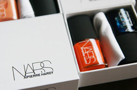 The Limited Edition NARS x Pierre Hardy Nail Polish Sets Come With Their Very Own Dustbags!