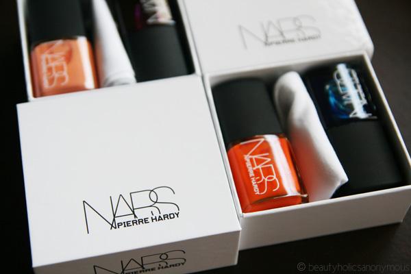 NARS X Pierre Hardy Nail Polish Box Sets In Ethno Run And Sharp Lines