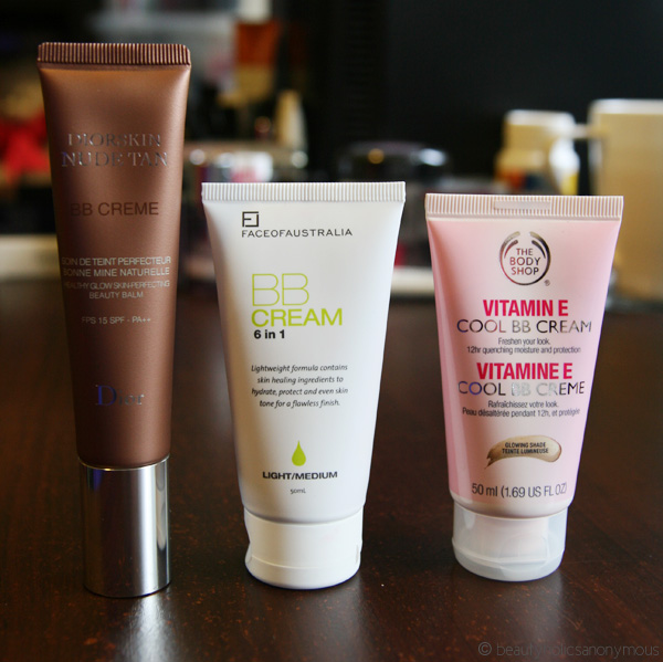 BB Creamology: Face of Australia, The Body Shop and Dior