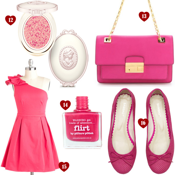 List of Lusts: Pretty In Pink