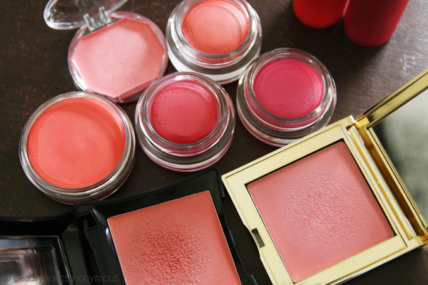 Rudiments of Rouge: Powder vs. Cream Blushes