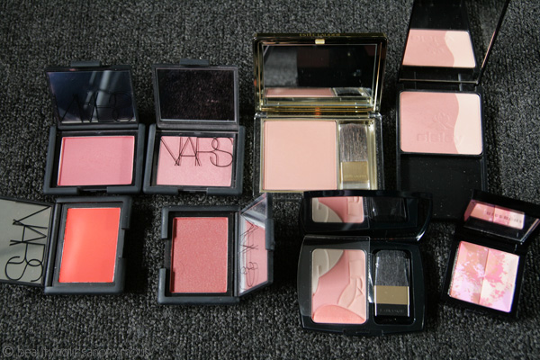 Rudiments of Rouge: My Blush Collection