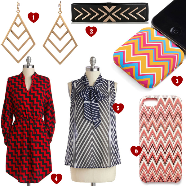 List of Lusts: Zigzag Chevron