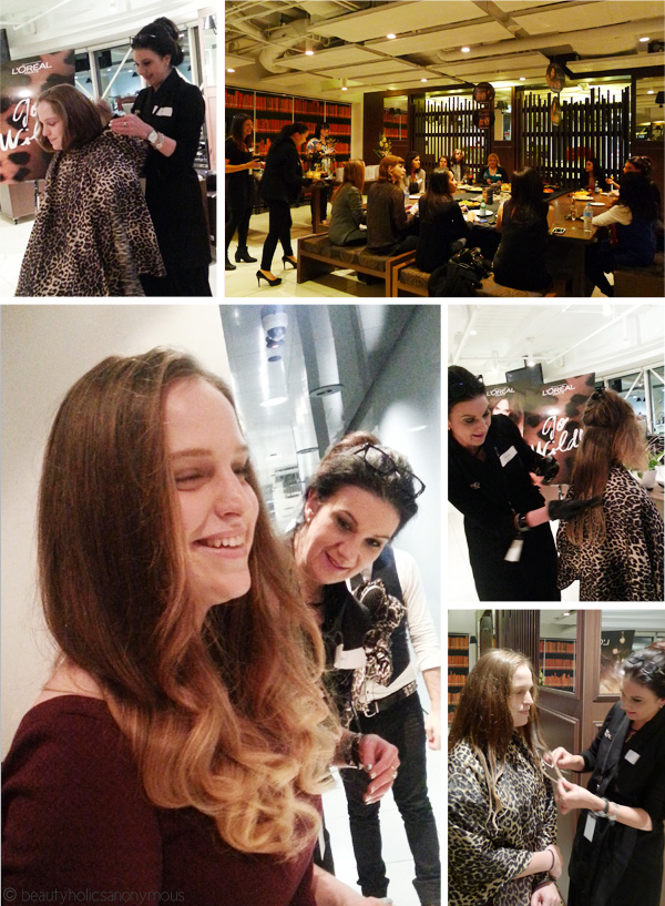 Beautyholics Anonymous + L'Oreal = A Wonderfully Wild Ombré Evening
