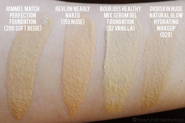 Revlon Nearly Foundation And