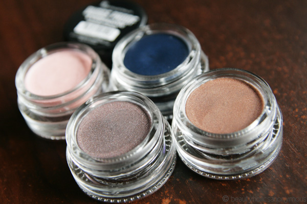 Face of Australia Budgeproof Eyeshadows vs. Maybelline's Color Tattoos. Who Wins?