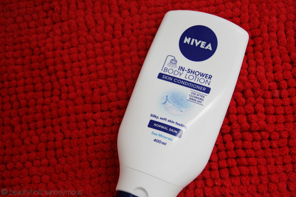 NIVEA In-Shower Body Lotion Skin Conditioner: No, Wait, What? Body Lotion In the Shower?!