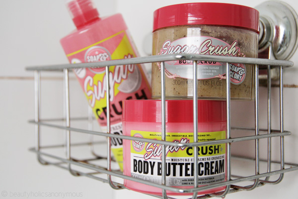 Quickie Mention: Soap and Glory's Sugar Crush Range