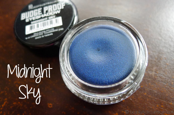Face of Australia Budgeproof Eyeshadow in Midnight Sky