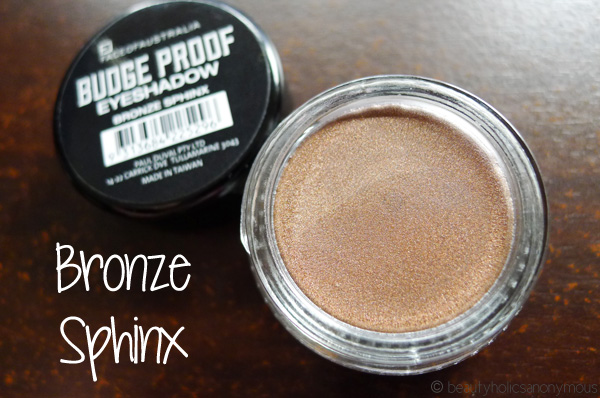 Face of Australia Budgeproof Eyeshadow in Bronze Sphinx