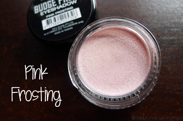 Face of Australia Budgeproof Eyeshadow in Pink Frosting