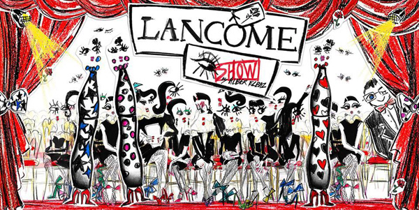 FOTD Featuring Alber Elbaz for Lancome