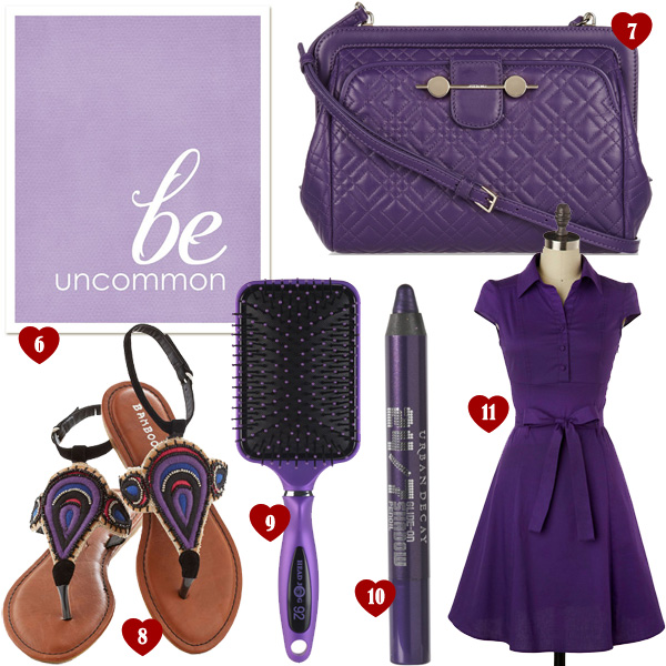 List of Lusts: Mad For Purple!
