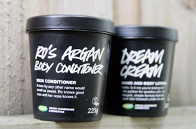 LUSH Ro's Argan Body Conditioner and Dream Cream: An Eye-Opening Experience When I Previously Wouldn't Even Step Into The Store