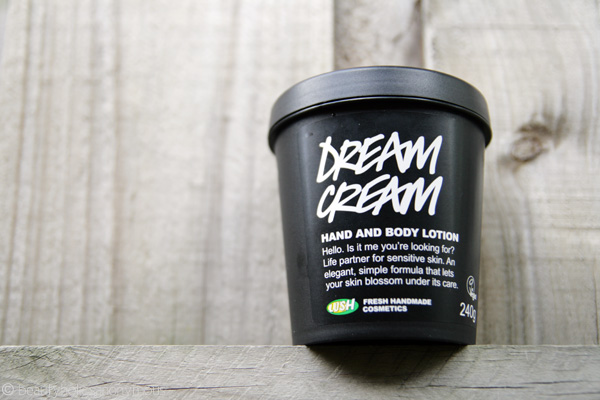 LUSH Dream Cream Hand and Body Lotion