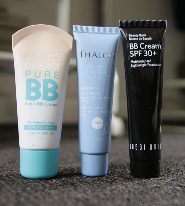 BB Creamology: Maybelline, Thalgo and Bobbi Brown