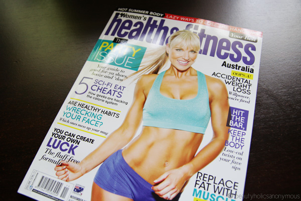Australian Women's Health and Fitness November 2013