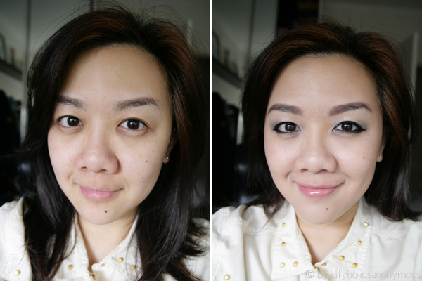 FOTD: A Cara Delevingne Makeup Look Inspired by Lisa Eldridge Before and After