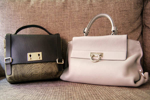 Furla and Ferragamo Bags
