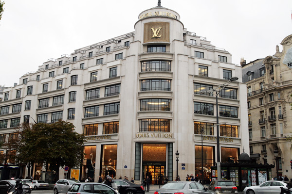 Louis Vuitton Paris Champ Elysees