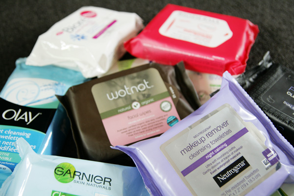 Battle of the Facial Wipes (Featuring Swisspers, Biore, Bioderma, Wotnot, Garnier, Neutrogena, Face of Australia, Simple, NIVEA and Olay)