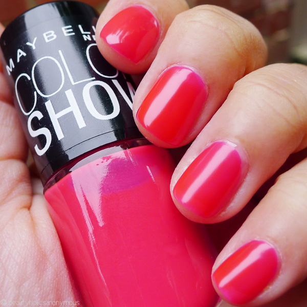 Maybelline Color Show Nail Lacquer In Pink Shock