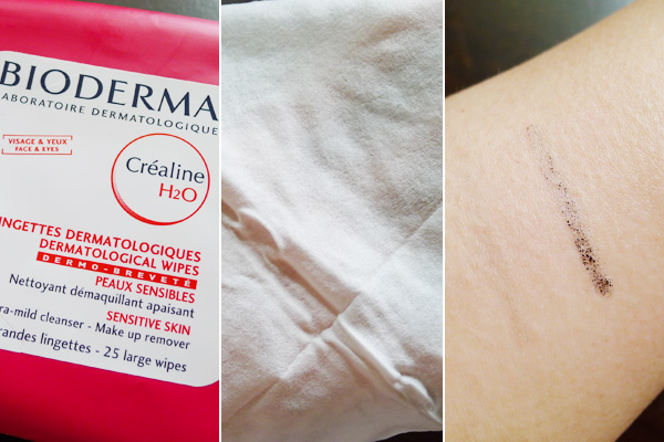 Bioderma Crealine H2O Dermatological Wipes