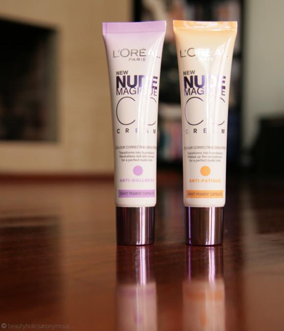 Loreal Paris Everpure Nude Magique CC Cream Anti-Dullness