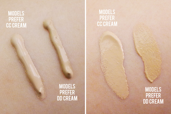 Experience Preference Model Models Prefer cc And dd Creams