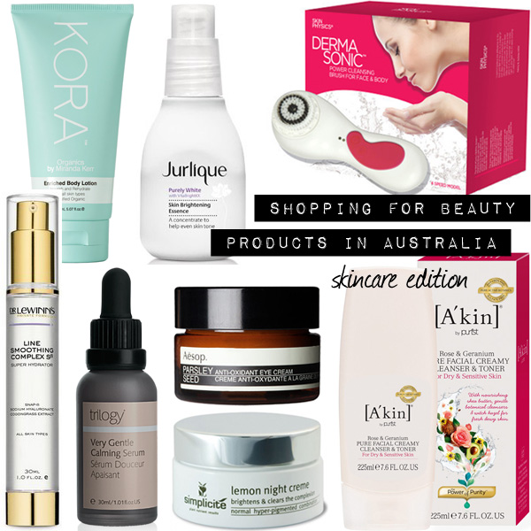 Want To Shop For Beauty Products in Australia? Here Are My Top Picks (Part 1 – Skincare)