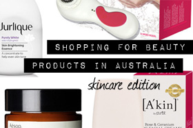 Want To Shop For Beauty Products in Australia? Here Are My Top Picks (Part 1 - Skincare)