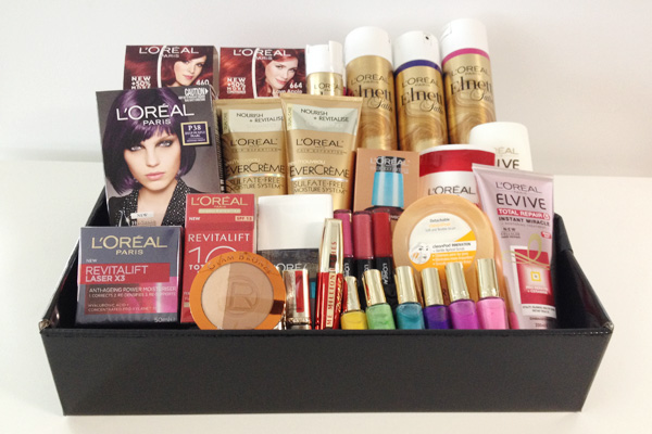 L'Oreal Paris Christmas hamper