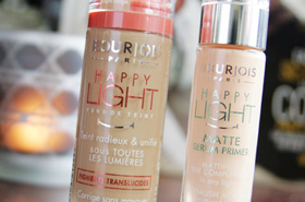 Not So Happy with Bourjois' Happy Light Foundation and Matte Serum Primer
