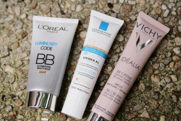 BB Creamology: Vichy, La Roche-Posay and L'Oreal