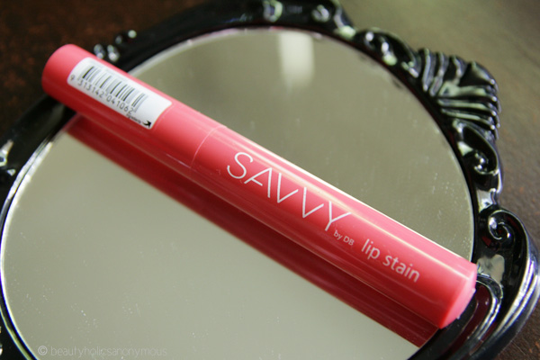 Savvy by DB Lip Stain in Watermelon