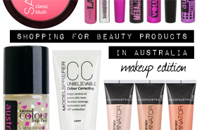 Want To Shop For Beauty Products in Australia? Here Are My Top Picks (Part 2 - Makeup)
