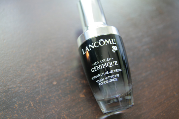 The Little Black Bottle That Is Lancome's Advanced Genefique Youth Activating Concentrate