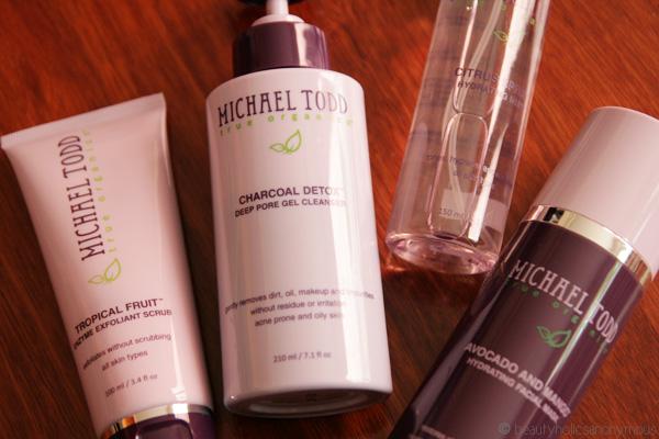 Michael Todd Skincare Range