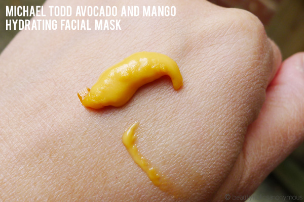 Michael Todd Avocado and Mango Hydrating Facial Mask