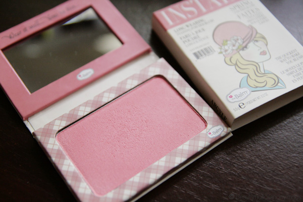 theBalm InStain Blush in Argyle: The Quickest Way To Make You Blush