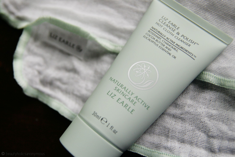 Liz Earle Cleanse and Polish Hot Cloth Cleanser: Finally, I Get To Try It With 'Em Muslin!